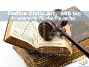 Art. 696 Bis ATP conciliativa