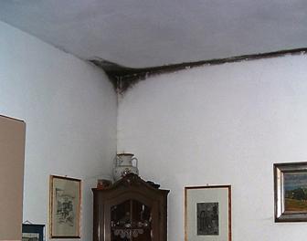 Muffa e umidit sui muri di una casa nuova dovuta a - Muffa e umidita in casa ...