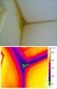 termografia-di-un-ponte-termico-formazione-muffa-muri