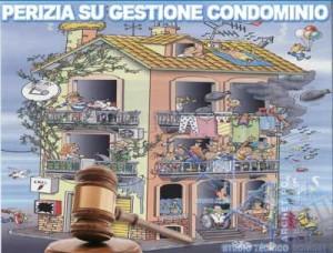 perizia su amministrazione del condomio
