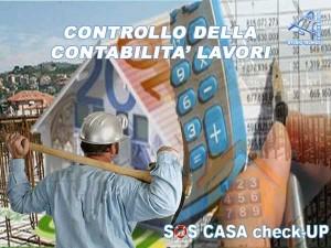 Controllo contabilità lavori edili