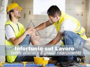 Infortunio sul lavoro risarcimento danni