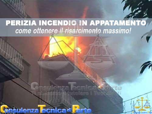 Perizia incendio appartamento casa