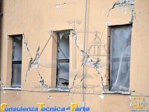 Crepe pericolose sui muri