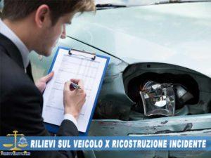 Ricostruzione incidenti stradali