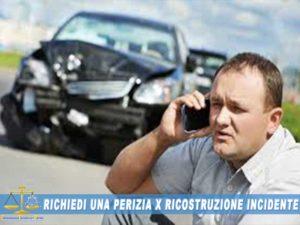 perizia per incidente stradale